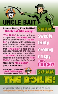 Uncle Bait - the boilie - EN - label