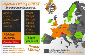 Imperial Fishing Direct Europe map 1500