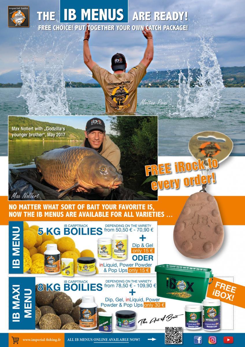 Imperial Fishing Anzeige Mai 2017 v.4 IB Menüs - Boilie Story