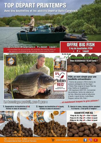 Imperial Fishing advert April 2017 - Boilie Story FR